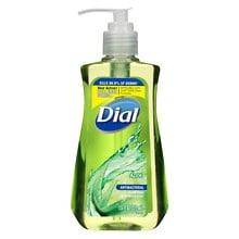 Dial Antibacterial Hand Soap With Moisturizing Aloe