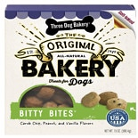 Three Dog Bakery Bitty Bites Oven Baked Treats Assorted