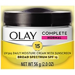 Olay Complete Cream All Day Moisturizer with SPF 15 for Normal Skin