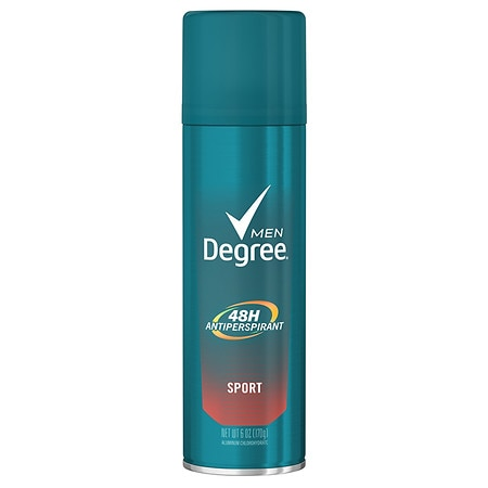 Degree Men Dry Protection Aerosol Antiperspirant Deodorant Sport