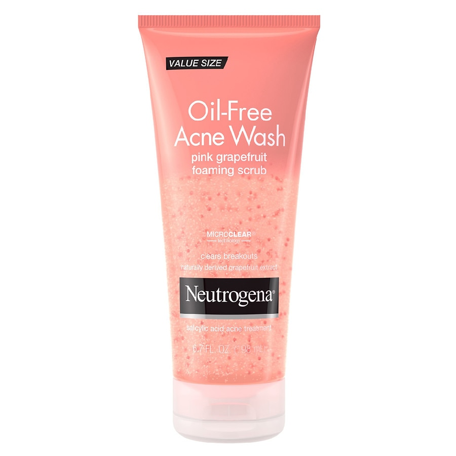 neutrogena oil free acne