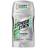 Speed Stick by Mennen Power Antiperspirant & Deodorant Solid Powder Fresh