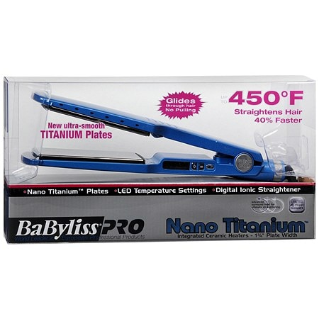 BaByliss PRO 1-3/4 inch Digital Ionic Straightening Iron