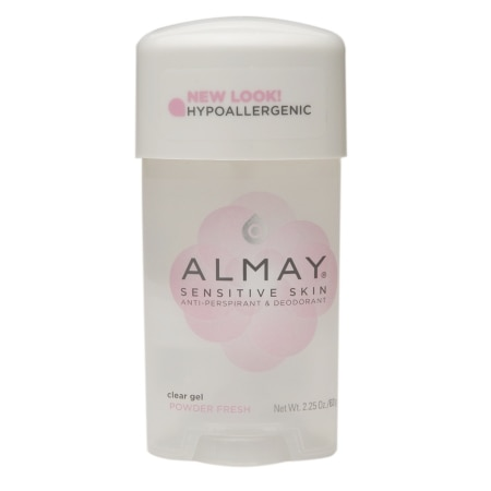 Almay Sensitive Skin Clear Gel Antiperspirant & Deodorant Powder Fresh