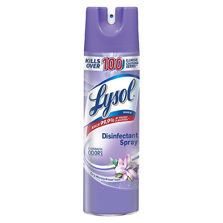 Image of Lysol Disinfectant Spray Early Morning Breeze - 19 oz.
