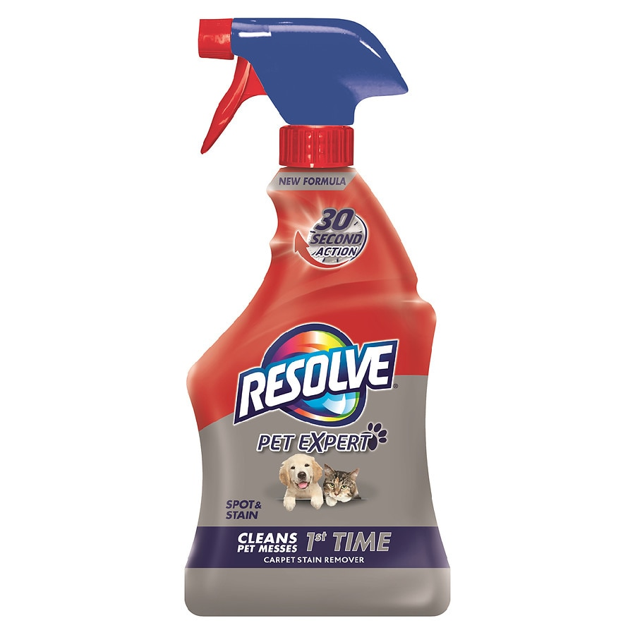 Resolve Pet Oxi Advanced Carpet Spot Stain Remover Walgreens