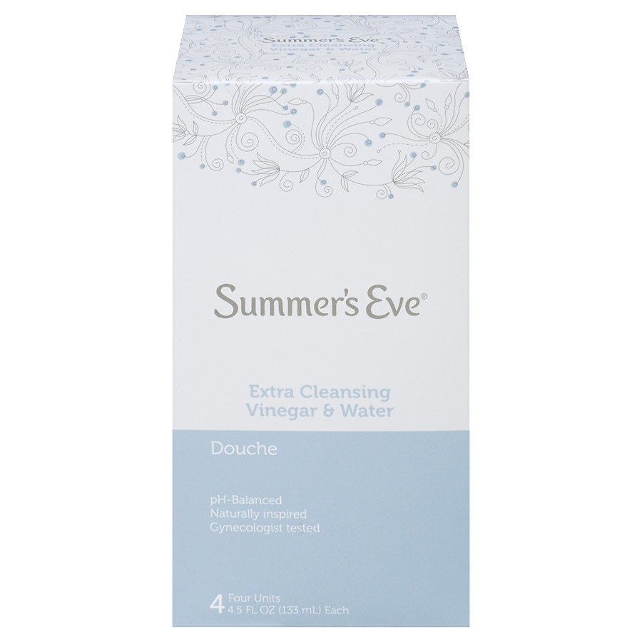 Summer's Eve Douche Extra Cleansing Vinegar & Water
