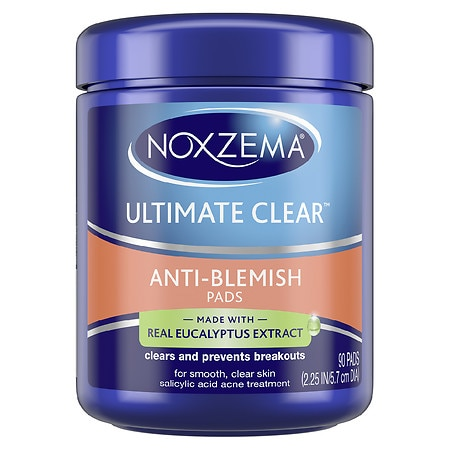 Image of Noxzema Ultimate Clear Pads Anti Blemish - 90 ea