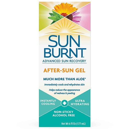 SunBurnt After Sun Gel with Aloe