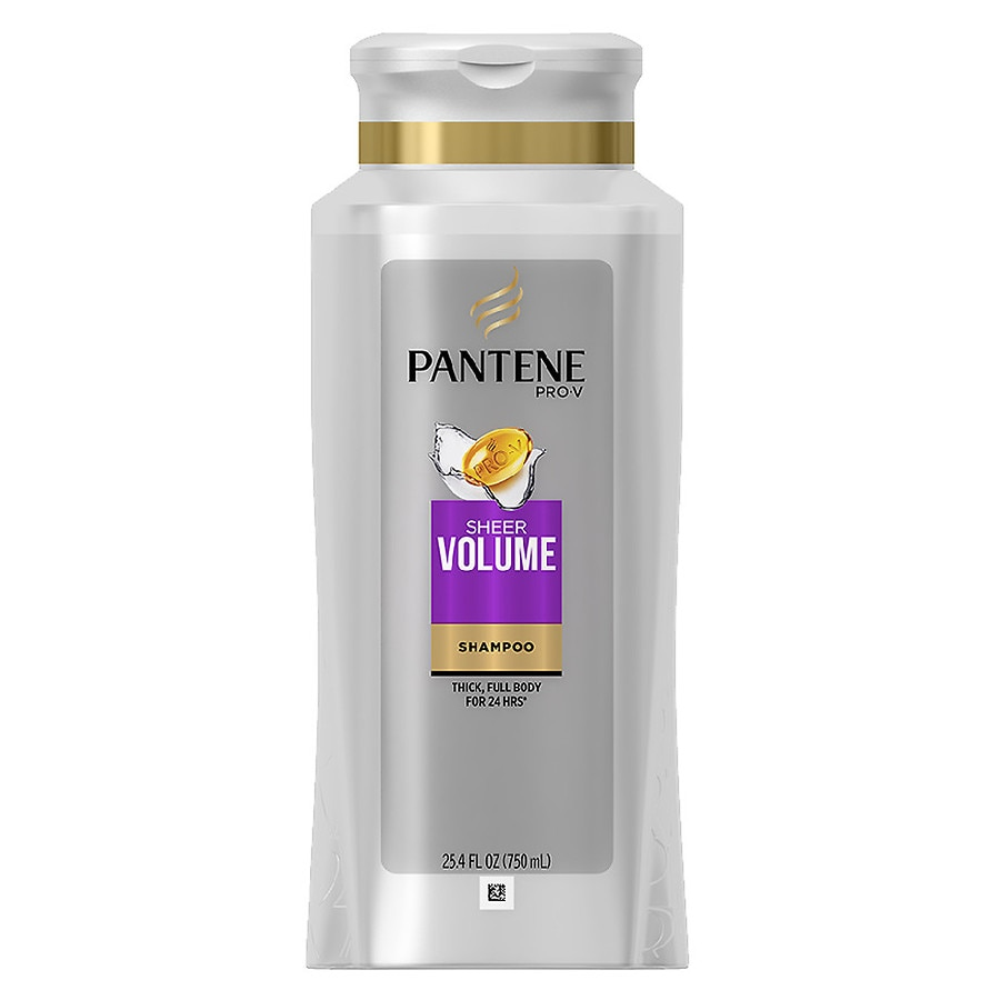 Pantene Pro V Fine Hair Solutions Shampoo Walgreens Sampo Total Damage Care 750ml Product Large Image