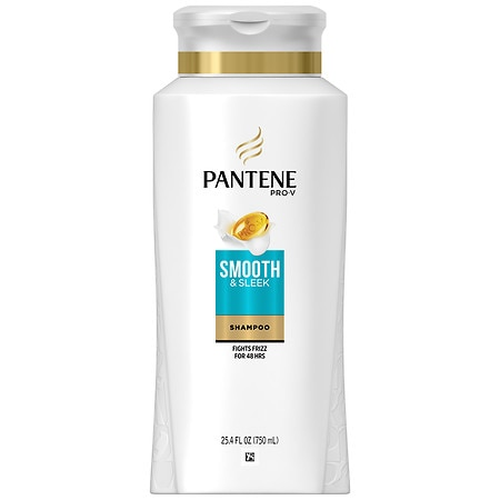 pantene pro v smooth sleek anti frizz shampoo walgreens