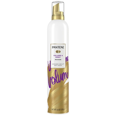 Pantene Pro-V Fine Hair Style Triple Action Volume Mousse