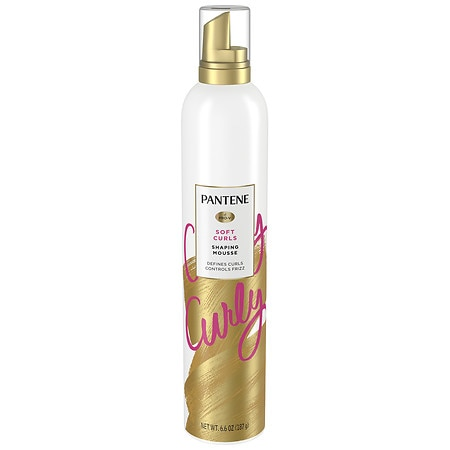 Pantene Pro-V Curly Hair Style Curl Defining Mousse - 6.6 oz.