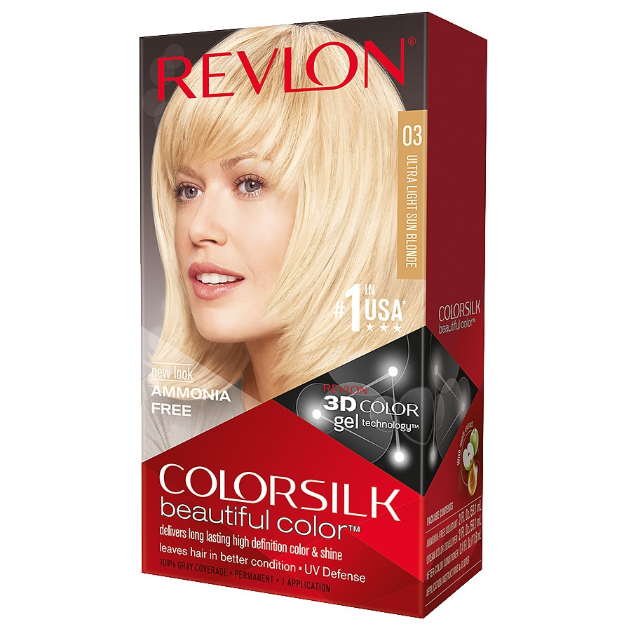 Revlon Colorsilk Beautiful Color,03 Ultra Light Sun Blonde | Walgreens