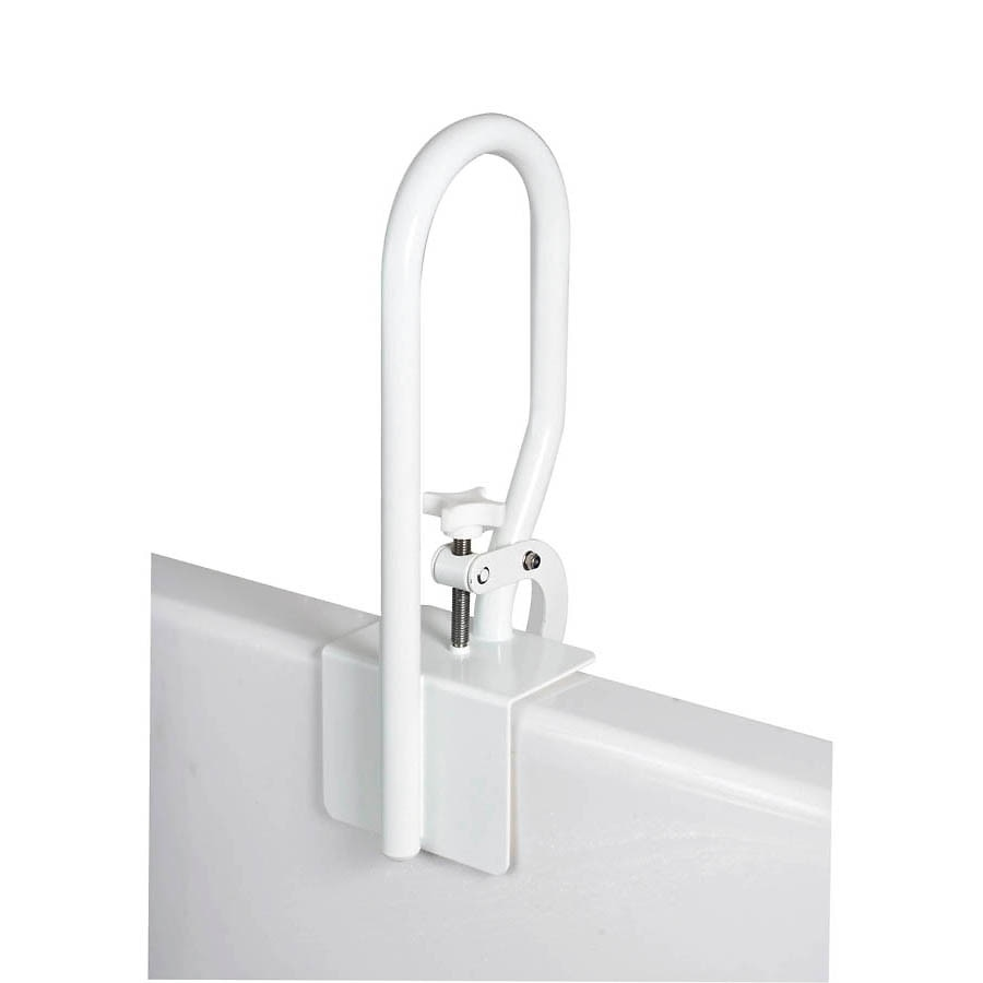 Carex White Bathtub Rail | Walgreens