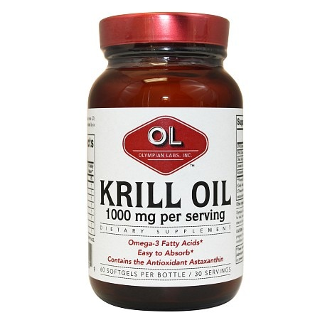 Olympian Labs Krill Oil 1000mg