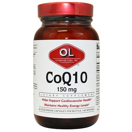 Olympian Labs Coenzyme Q10, Extra Strength 150mg