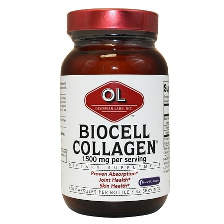 Olympian Labs Biocell Collagen II, Capsules