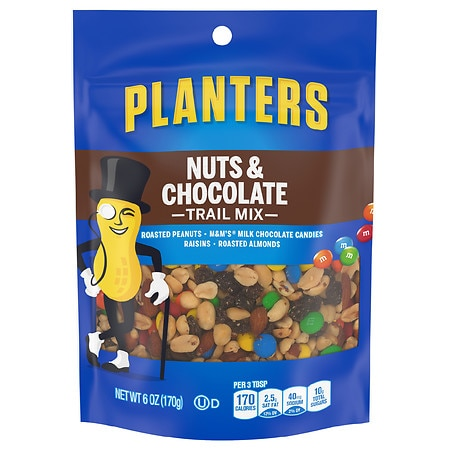 and nuts food planter cookies planters snackscookies mix trail chocolate snacks