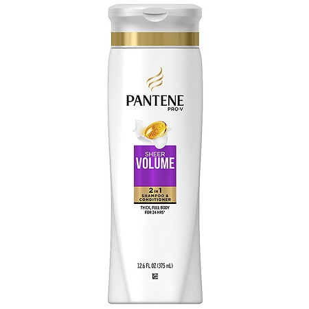 Pantene Pro-V Fine Hair Solutions 2 in 1 Shampoo & Conditioner - 12.6 oz.