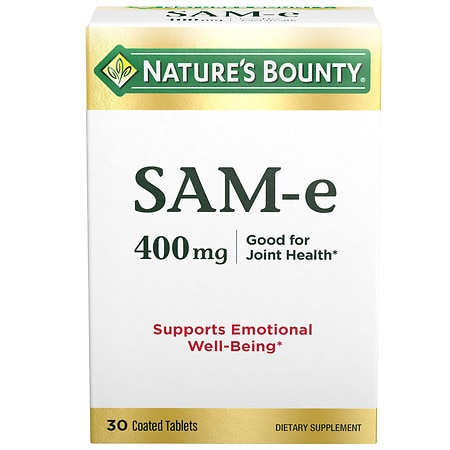 Nature's Bounty SAM-e 400mg, Super Strength, Tablets