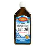 Carlson The Very Finest Fish Oil Omega-3's DHA & EPA Orange