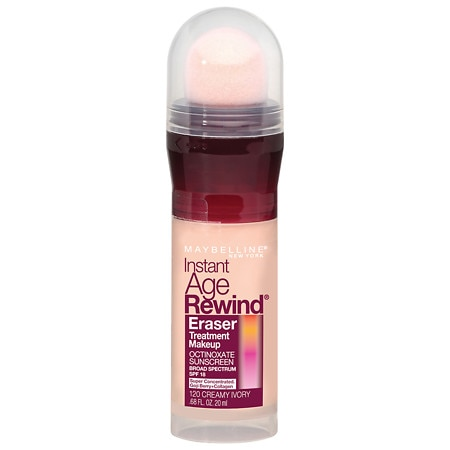 Maybelline Instant Age Rewind Eraser Treatment Liquid Makeup SPF 18