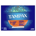 Tampax Tampons with Anti-Slip Grip Cardboard Applicator Super Plus
