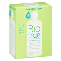 Deals on 2-Pk Bausch + Lomb Biotrue Multi-Purpose Solution 10oz