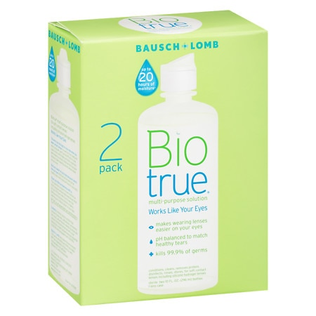 Bausch + Lomb Biotrue Multi-Purpose Solution - 10 oz. x 2 pack