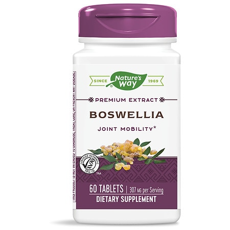 Nature's Way Boswellia Standardized, Tablets - 60