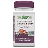 Nature's Way Grape Seed Standardized 100 mg Dietary Supplement Vegetarian Vcaps