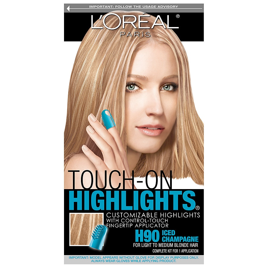 Loreal Paris Touch On Highlights Customizable Highlightsh90 Iced