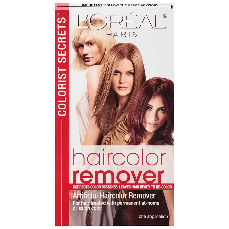 Loreal Paris Colorist Secrets Haircolor Remover Walgreens
