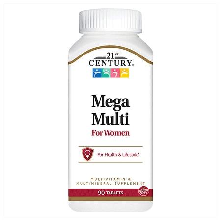Image of 21st Century Mega Multi for Women, Multivitamin & Multimineral - 90 ea