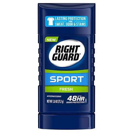 Right Guard Sport Antiperspirant & Deodorant Invisible Solid Fresh