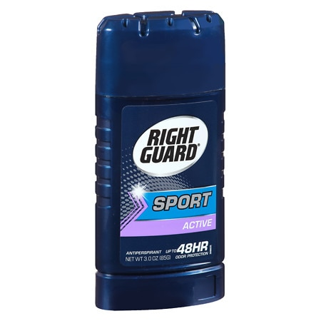 Right Guard Sport Antiperspirant & Deodorant Invisible Solid Active - 2.6 oz.