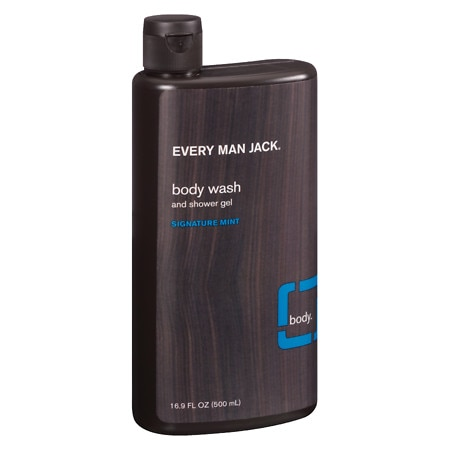 Every Man Jack Body Wash and Shower Gel Signature Mint