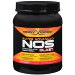 Body Fortress Super Advanced NOS Blast, Ultimate Multi-Action Workout Formula Fruit Punch