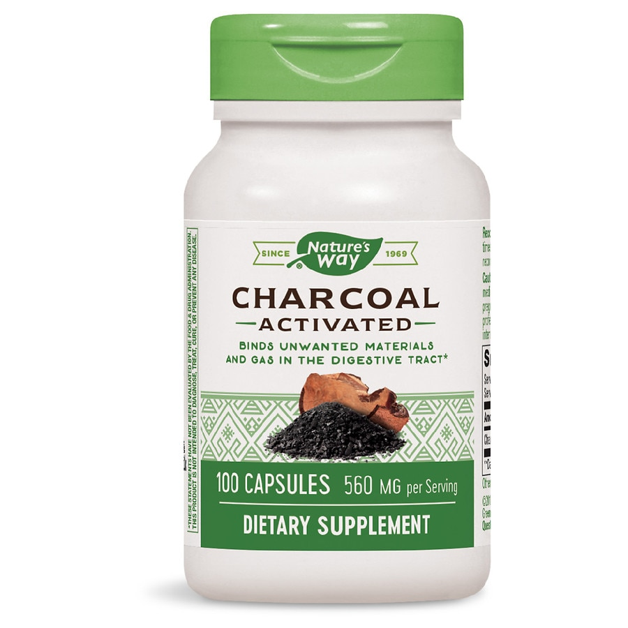 Nature S Way Activated Charcoal Walgreens
