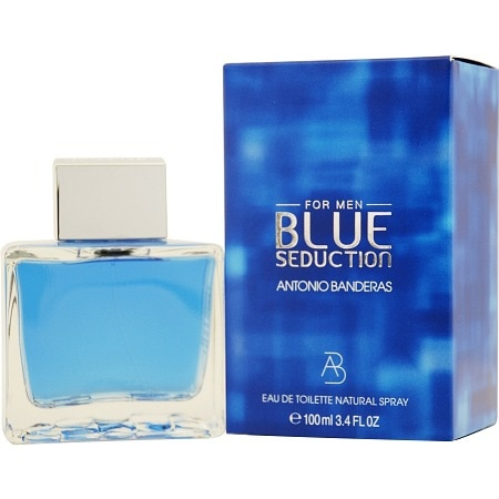 Antonio Banderas Blue Seduction Eau de Toilette Spray for Men