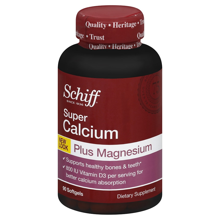 schiff super calcium magnesium with vitamin d softgels walgreens. Black Bedroom Furniture Sets. Home Design Ideas