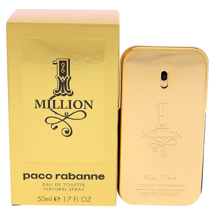 Paco Rabanne 1 Million Eau De Toilette Spray For Men1.7oz by Walgreens