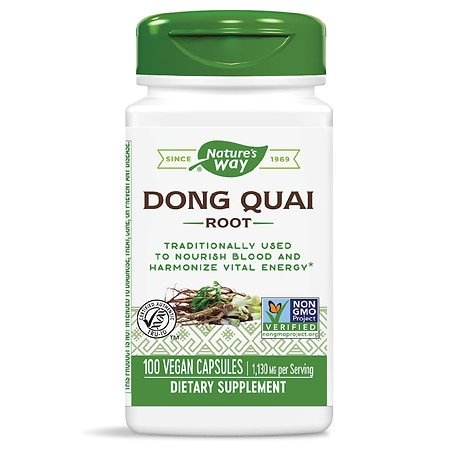 nature's way dong quai root, capsules | walgreens, Skeleton