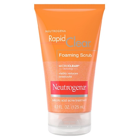 Neutrogena Rapid Clear Foaming Scrub Acne Treatment