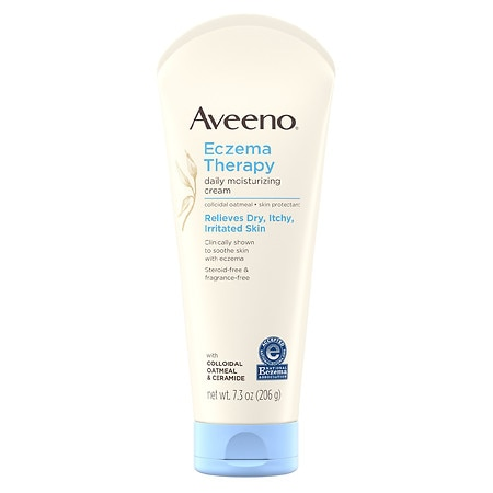 Aveeno Eczema Therapy Daily Moisturizing Cream With Oatmeal - 7.3 oz.