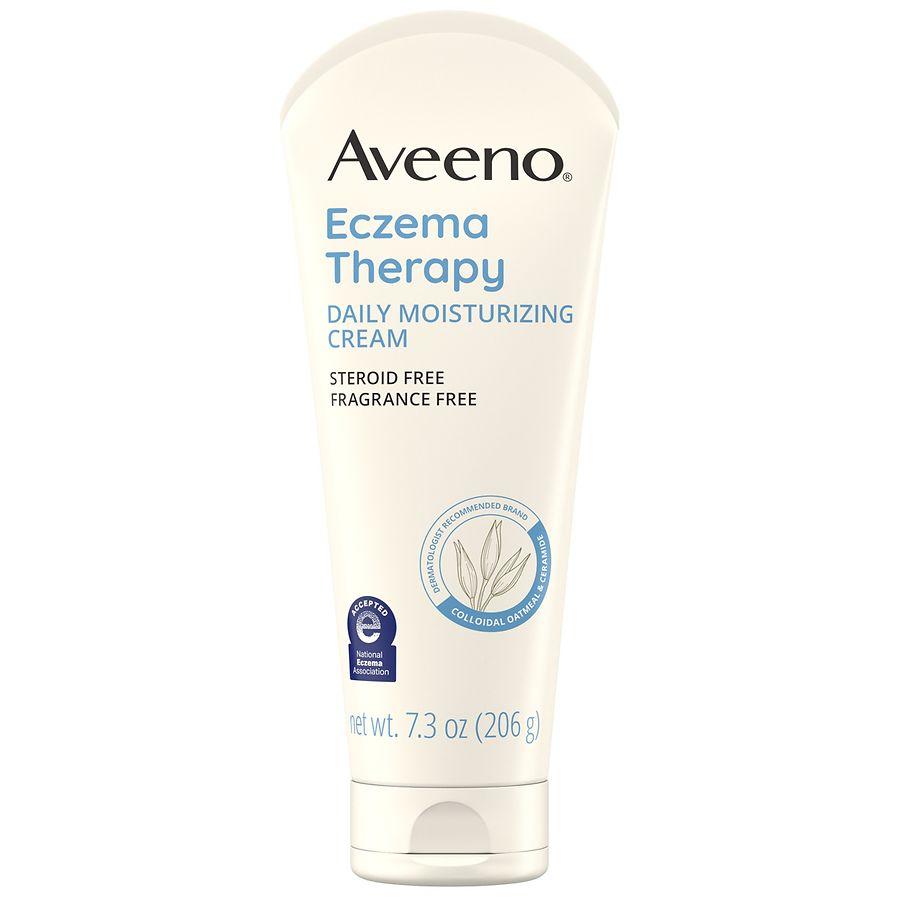 aveeno eczema care cream