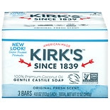 Kirk's 100% Coconut Oil Bar Soap Original