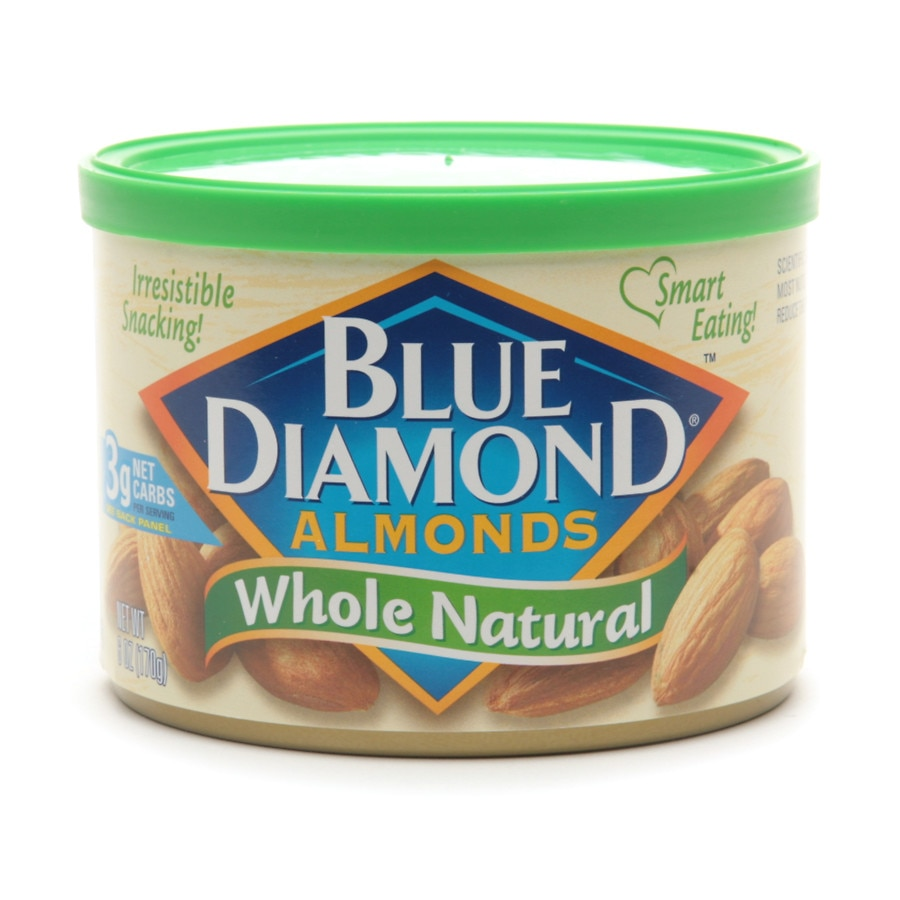 Blue Diamond Almonds Whole Natural | Walgreens