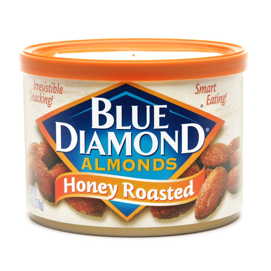 Blue Diamond Almonds Honey Roasted 6.0oz